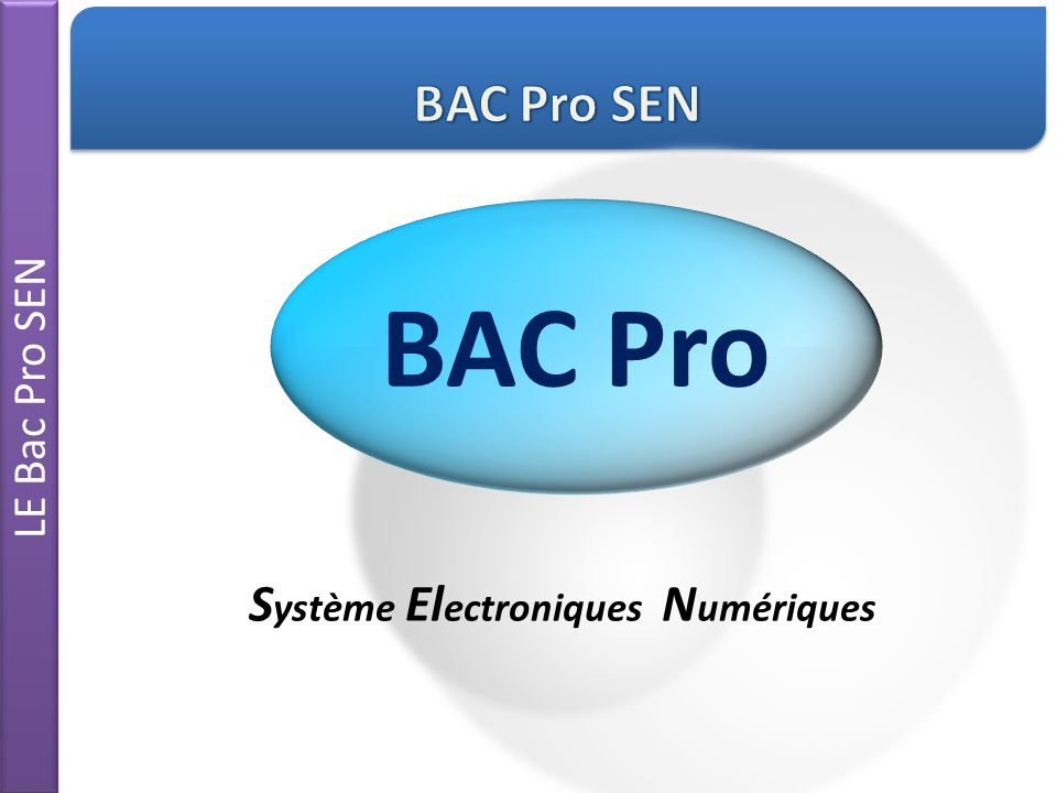 Système Electroniques Numériques