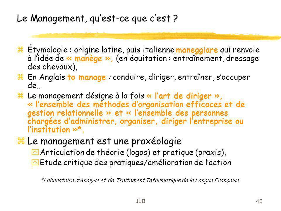Le Management, qu'est-ce que c'est