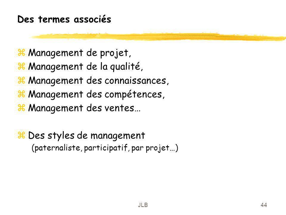 Management de la qualité, Management des connaissances,