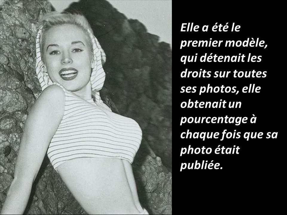 Elle a été le premier modèle, qui détenait les droits sur toutes ses photos, elle obtenait un pourcentage à chaque fois que sa photo était publiée.