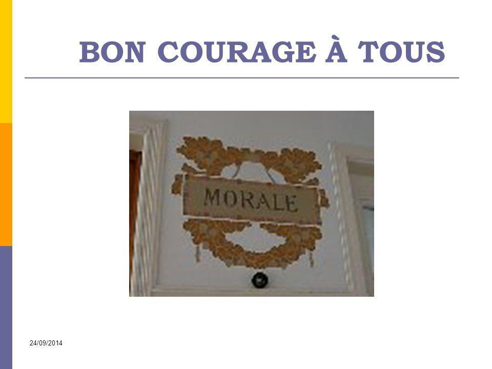 Bon courage à tous Circulaire sur les leçons de morale à l'école primaire 02/04/2017
