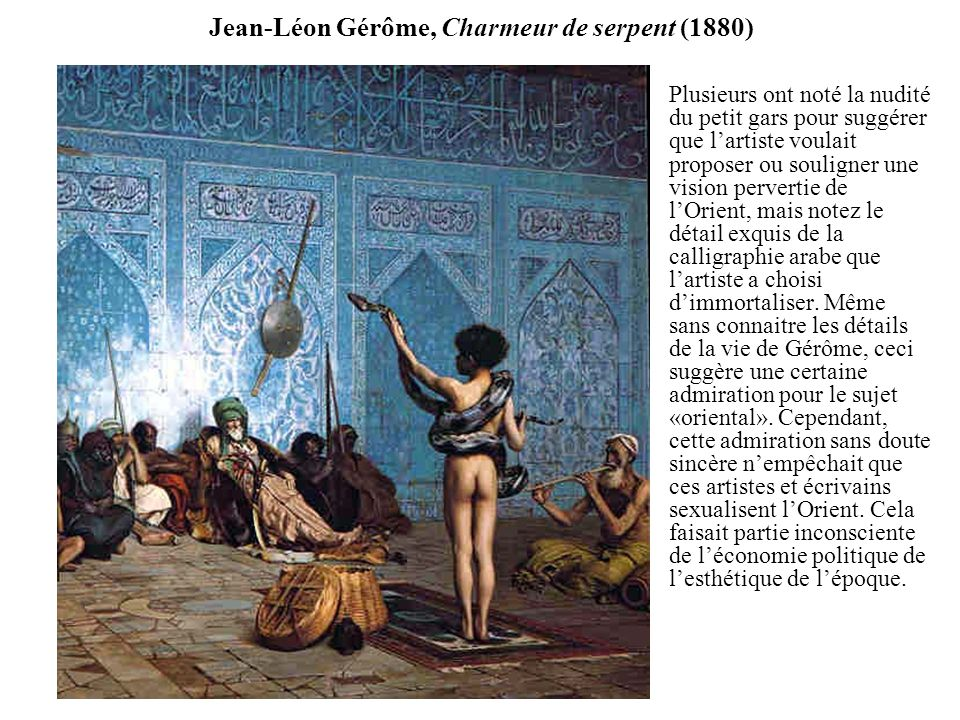 Jean-Léon Gérôme, Charmeur de serpent (1880)