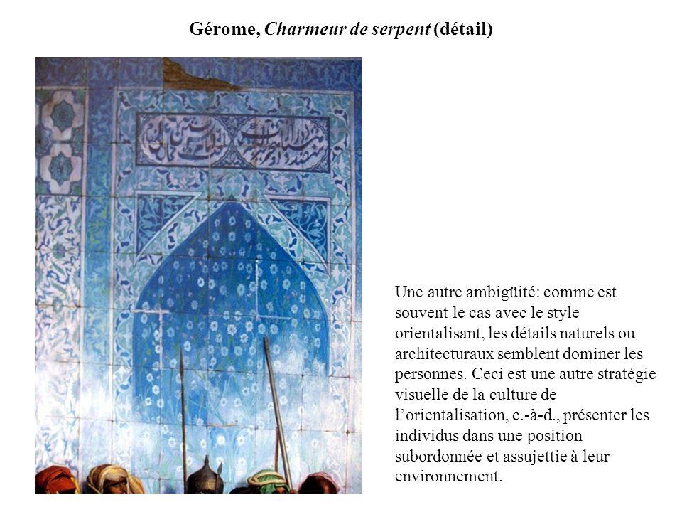 Gérome, Charmeur de serpent (détail)