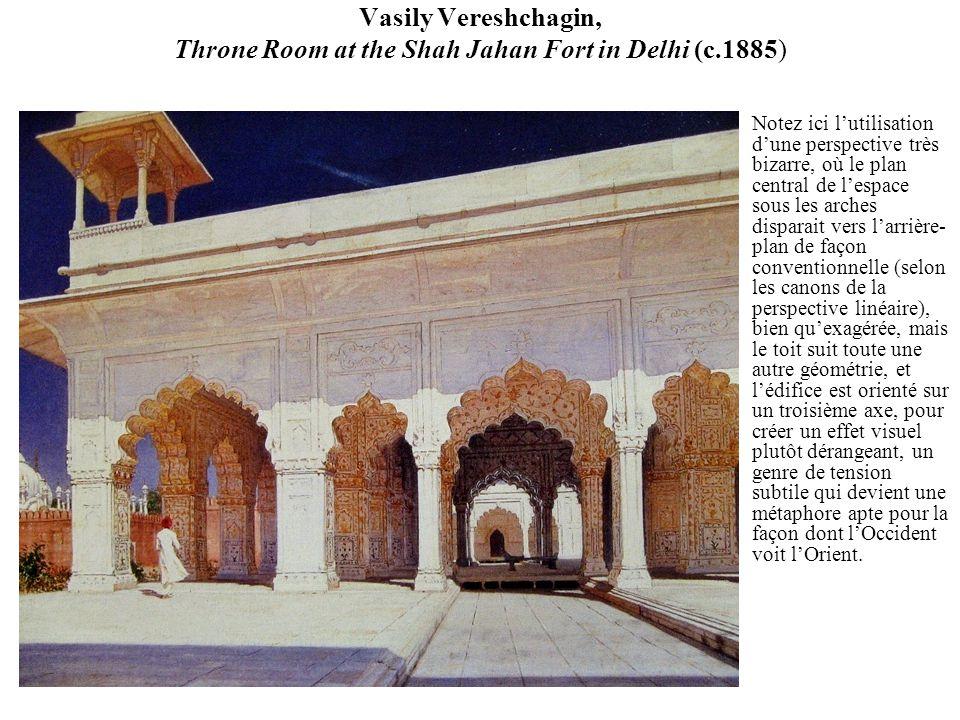Vasily Vereshchagin, Throne Room at the Shah Jahan Fort in Delhi (c