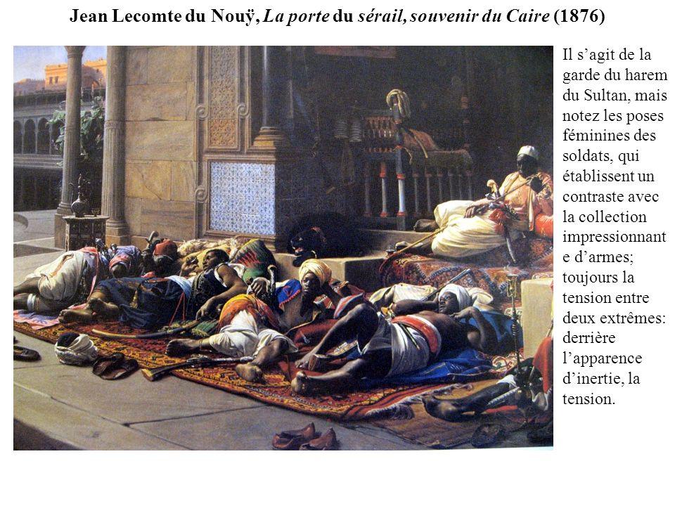 Jean Lecomte du Nouÿ, La porte du sérail, souvenir du Caire (1876)