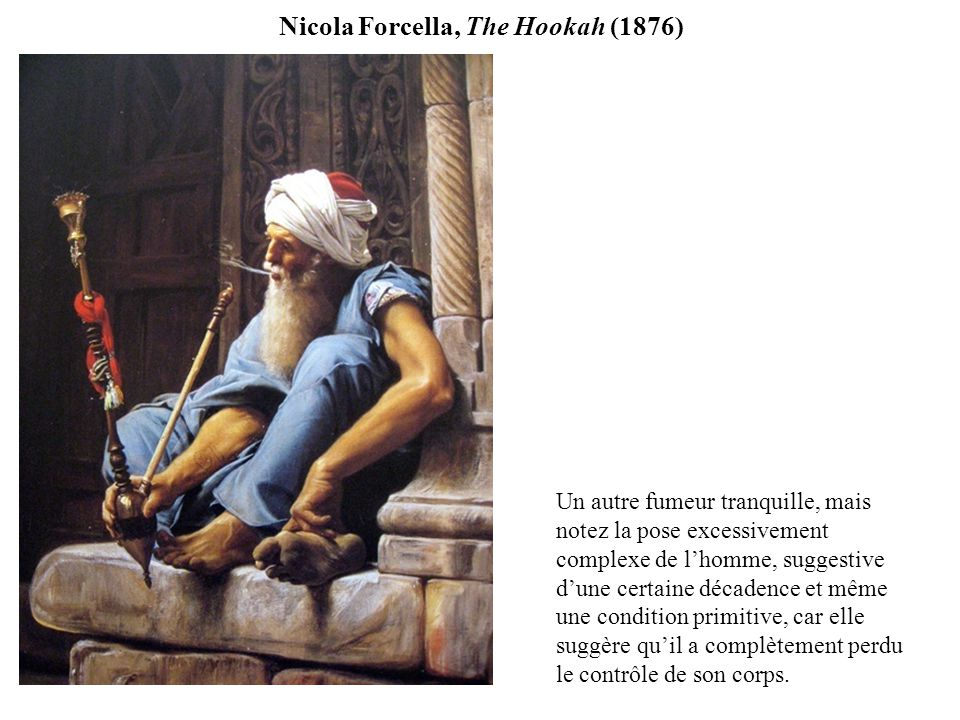 Nicola Forcella, The Hookah (1876)