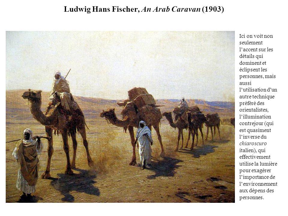 Ludwig Hans Fischer, An Arab Caravan (1903)