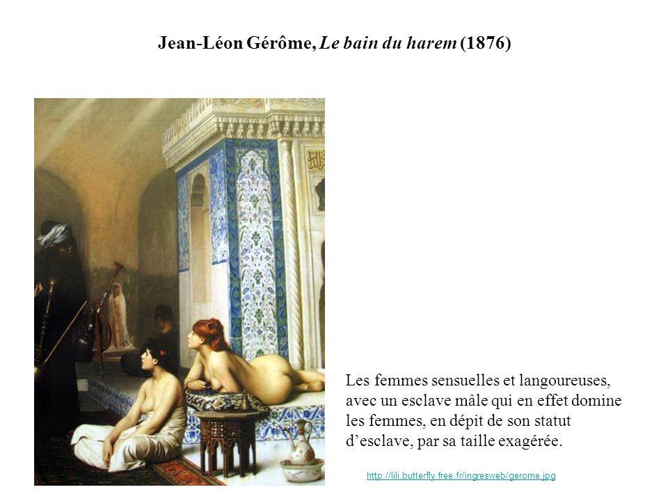 Jean-Léon Gérôme, Le bain du harem (1876)