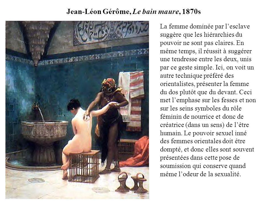 Jean-Léon Gérôme, Le bain maure, 1870s