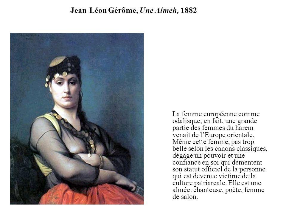 Jean-Léon Gérôme, Une Almeh, 1882