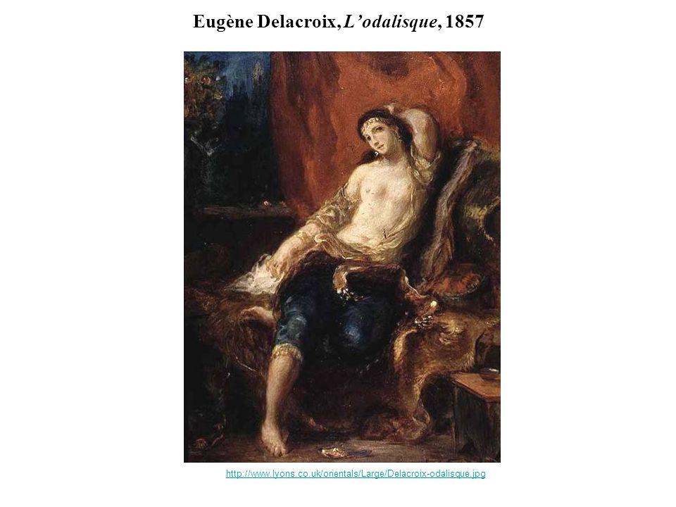 Eugène Delacroix, L'odalisque, 1857