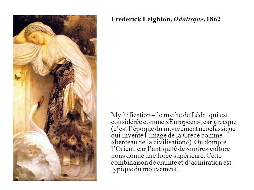 Frederick Leighton, Odalisque, 1862
