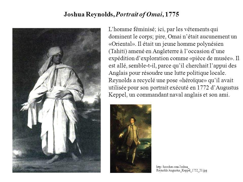 Joshua Reynolds, Portrait of Omai, 1775