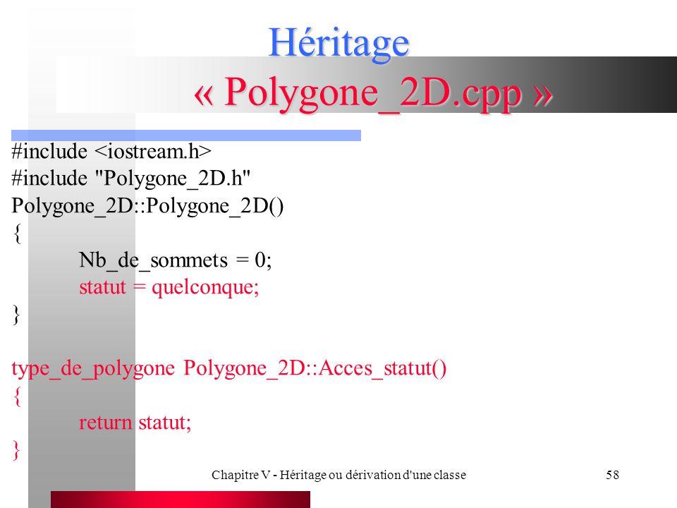 Héritage « Polygone_2D.cpp »