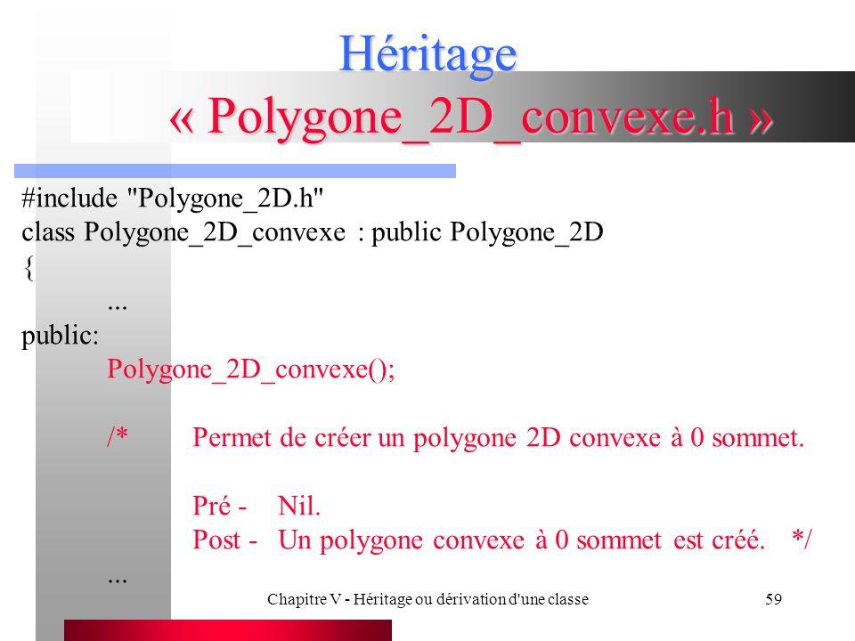 Héritage « Polygone_2D_convexe.h »