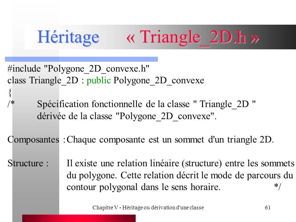 Héritage « Triangle_2D.h »