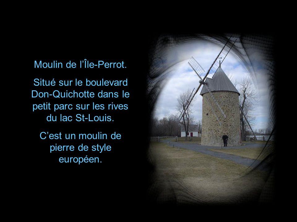 Moulin de l'Île-Perrot.