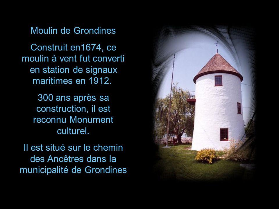 300 ans après sa construction, il est reconnu Monument culturel.