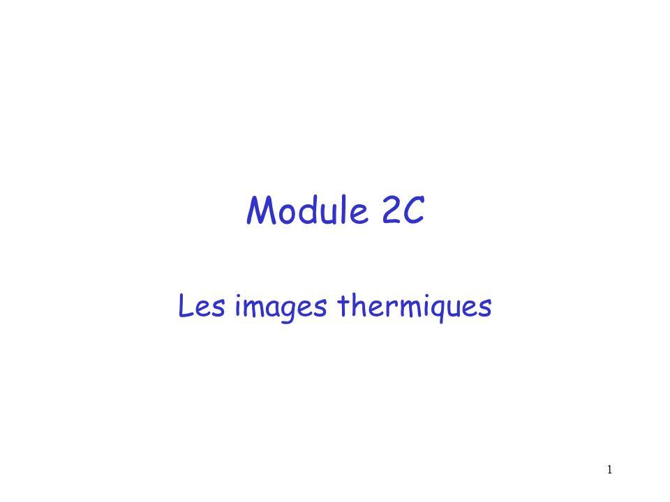 Module 2C Les images thermiques