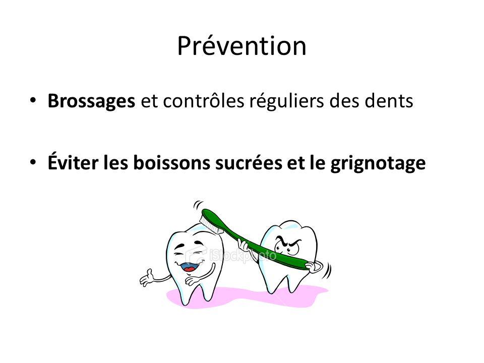 Prévention Brossages et contrôles réguliers des dents