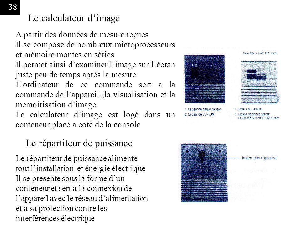 Le calculateur d'image
