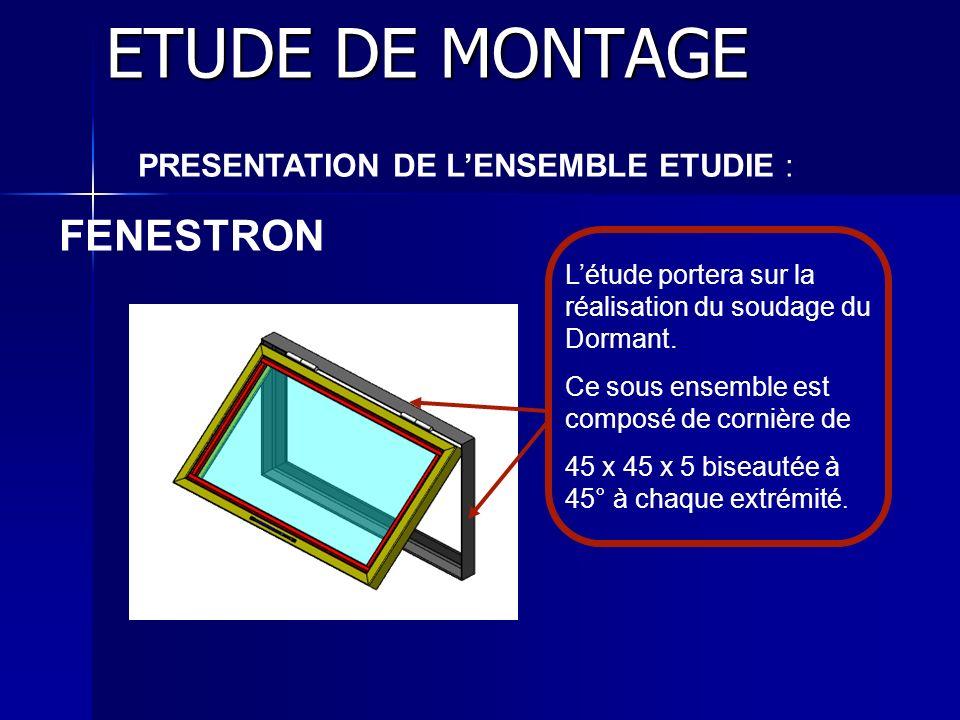 PRESENTATION DE L'ENSEMBLE ETUDIE :
