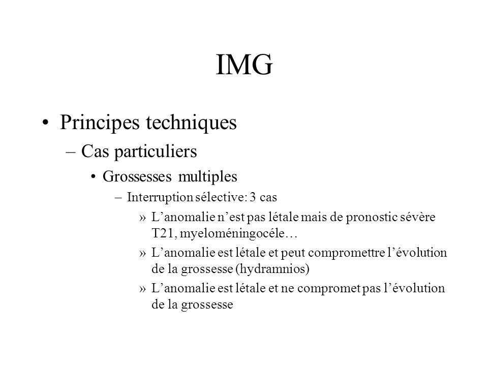 IMG Principes techniques Cas particuliers Grossesses multiples