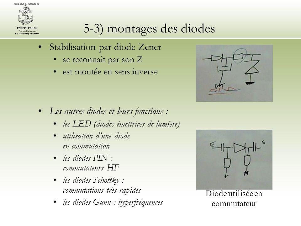 Diode utilisée en commutateur