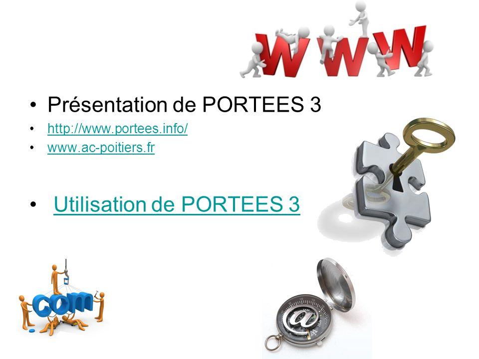 Présentation de PORTEES 3