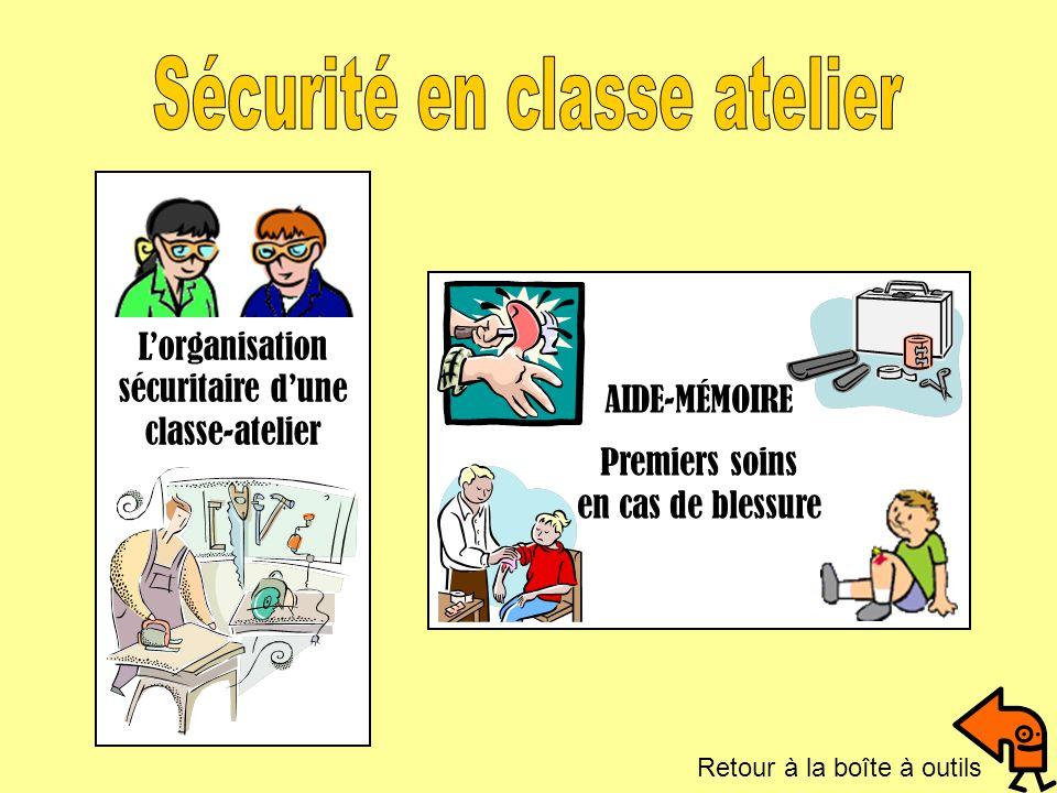 Sécurité en classe atelier