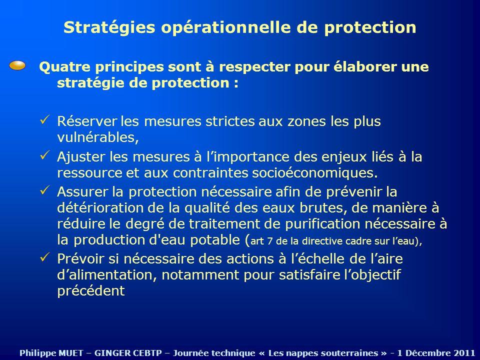 Stratégies opérationnelle de protection
