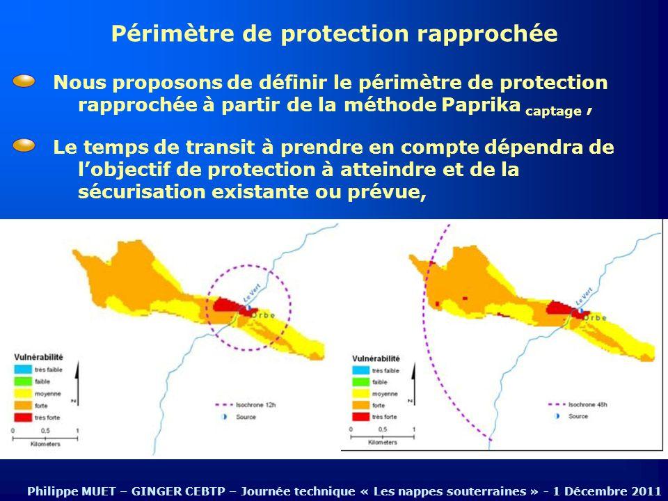 Périmètre de protection rapprochée