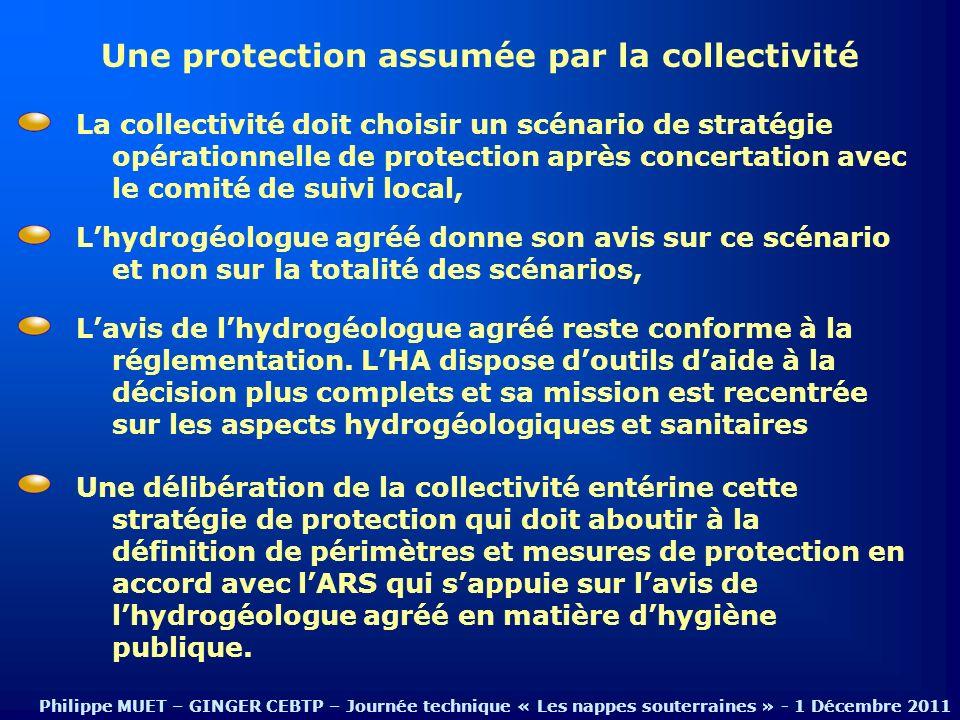 Une protection assumée par la collectivité