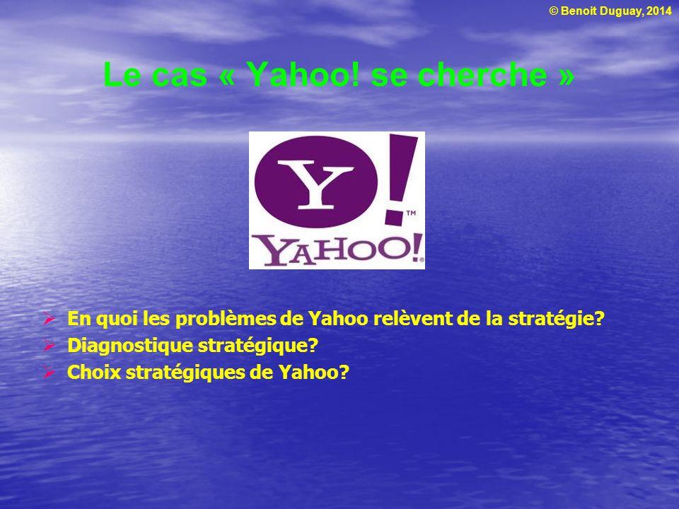Le cas « Yahoo! se cherche »