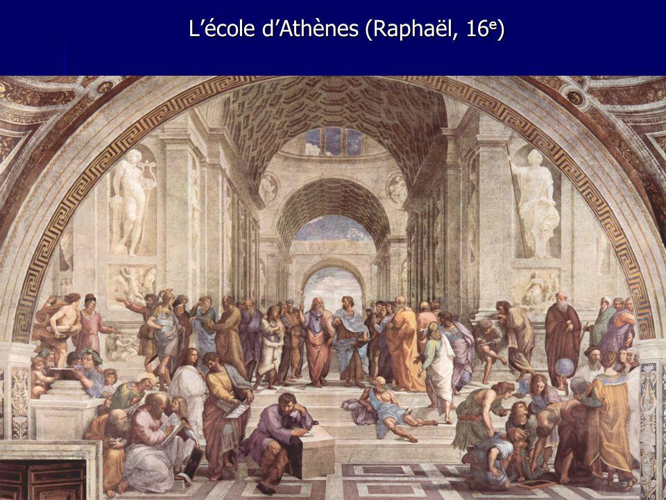 L'école d'Athènes (Raphaël, 16e)