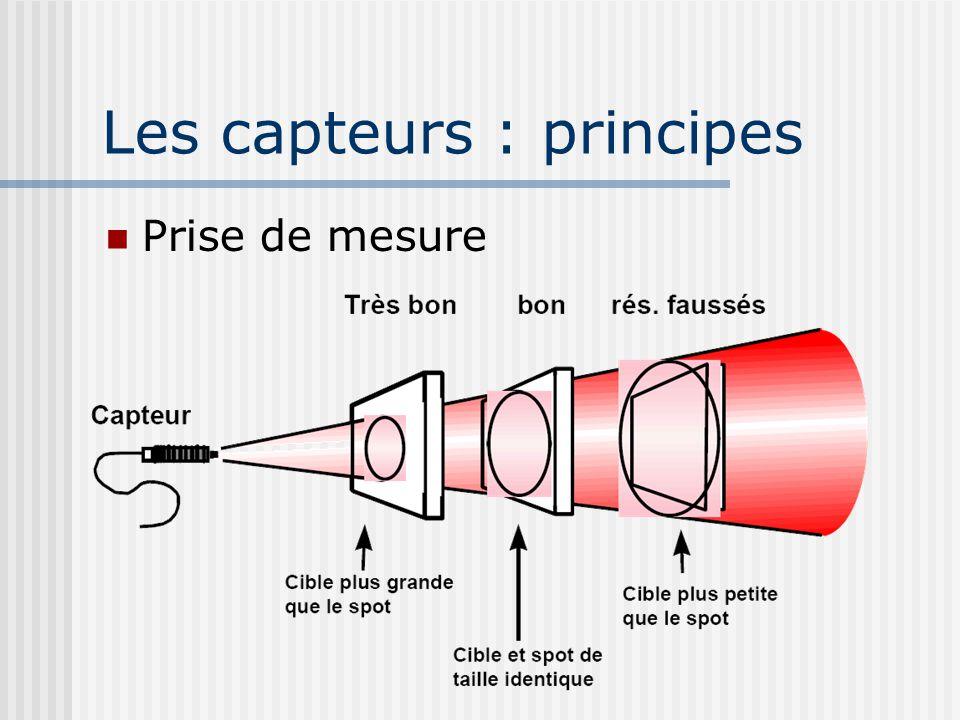 Les capteurs : principes