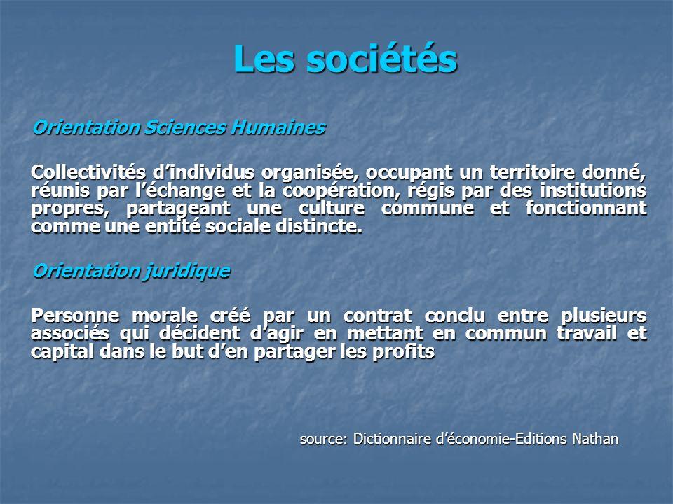 Orientation Sciences Humaines