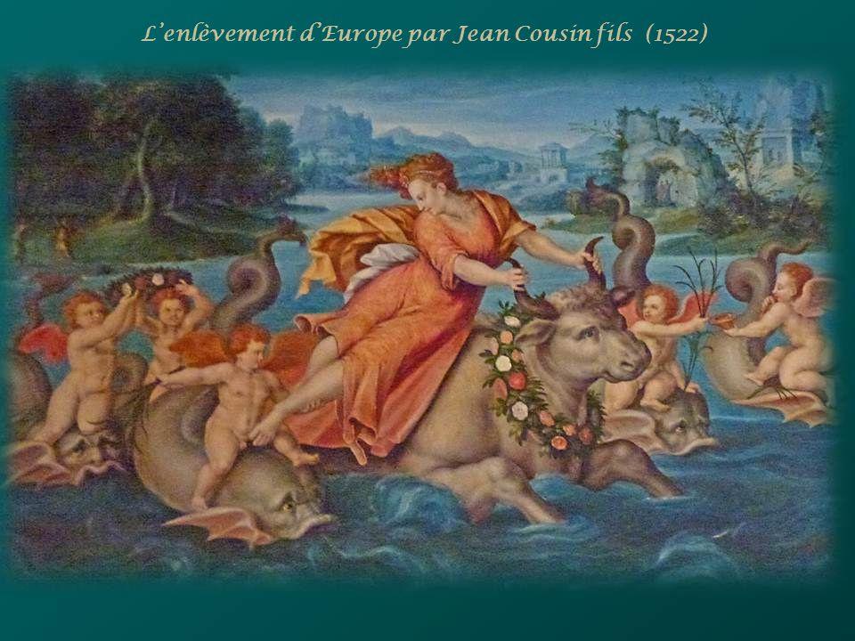L'enlèvement d'Europe par Jean Cousin fils (1522)