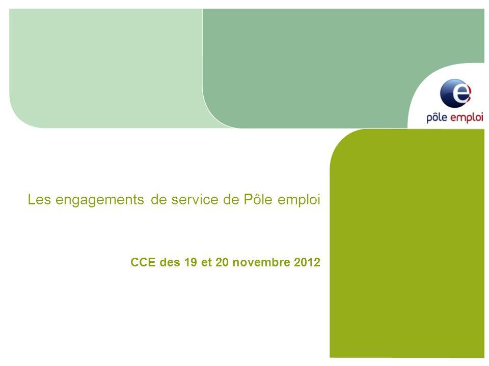 Les engagements de service de Pôle emploi