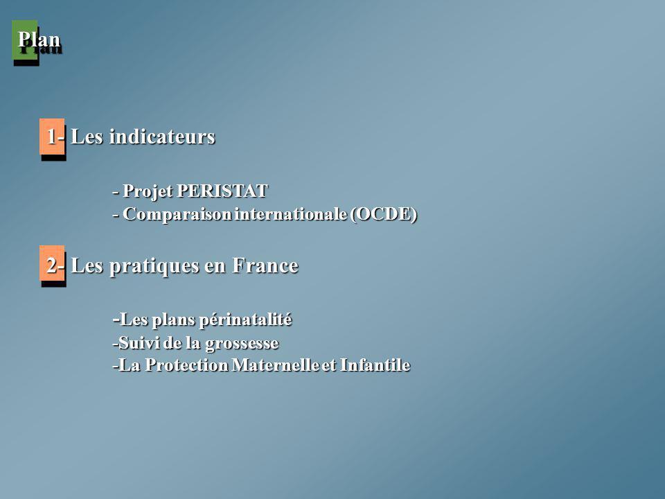 2- Les pratiques en France -Les plans périnatalité