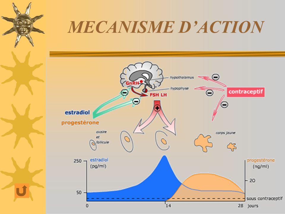 MECANISME D'ACTION