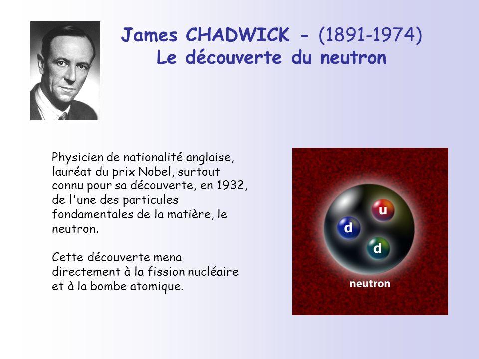Le découverte du neutron