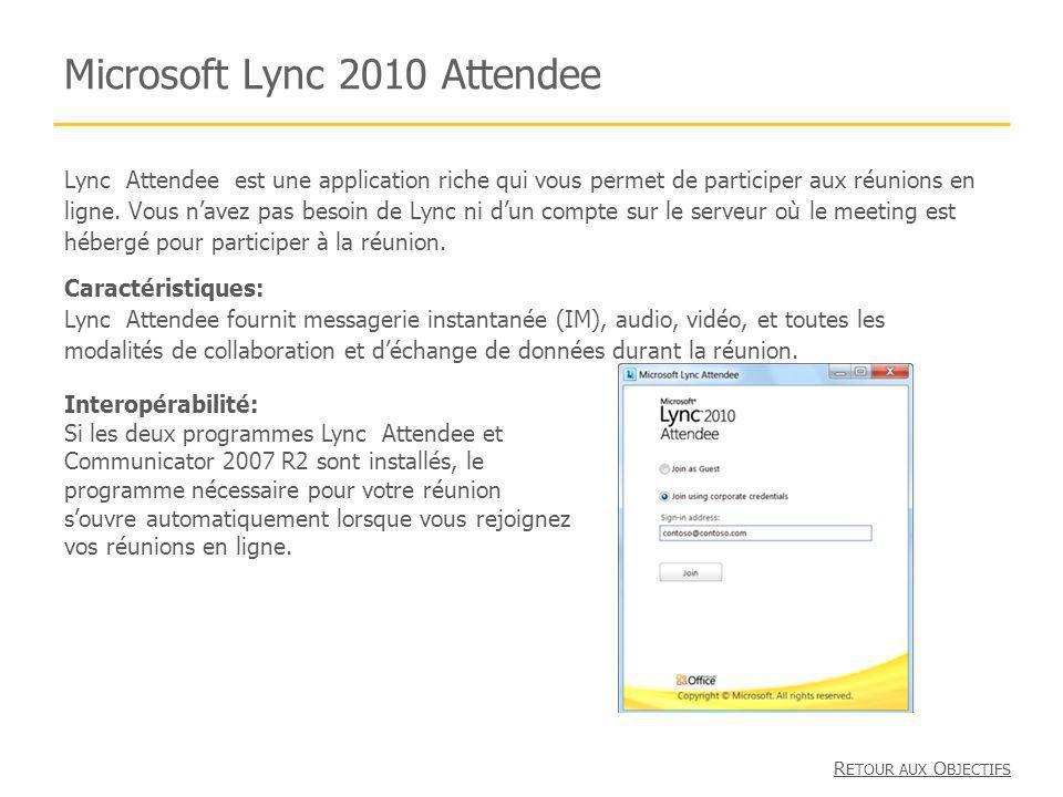 Microsoft Lync 2010 Attendee