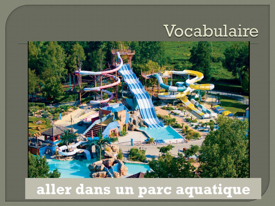 aller dans un parc aquatique