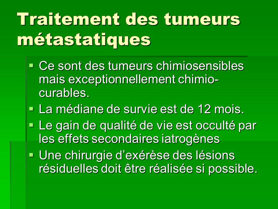 Traitement des tumeurs métastatiques