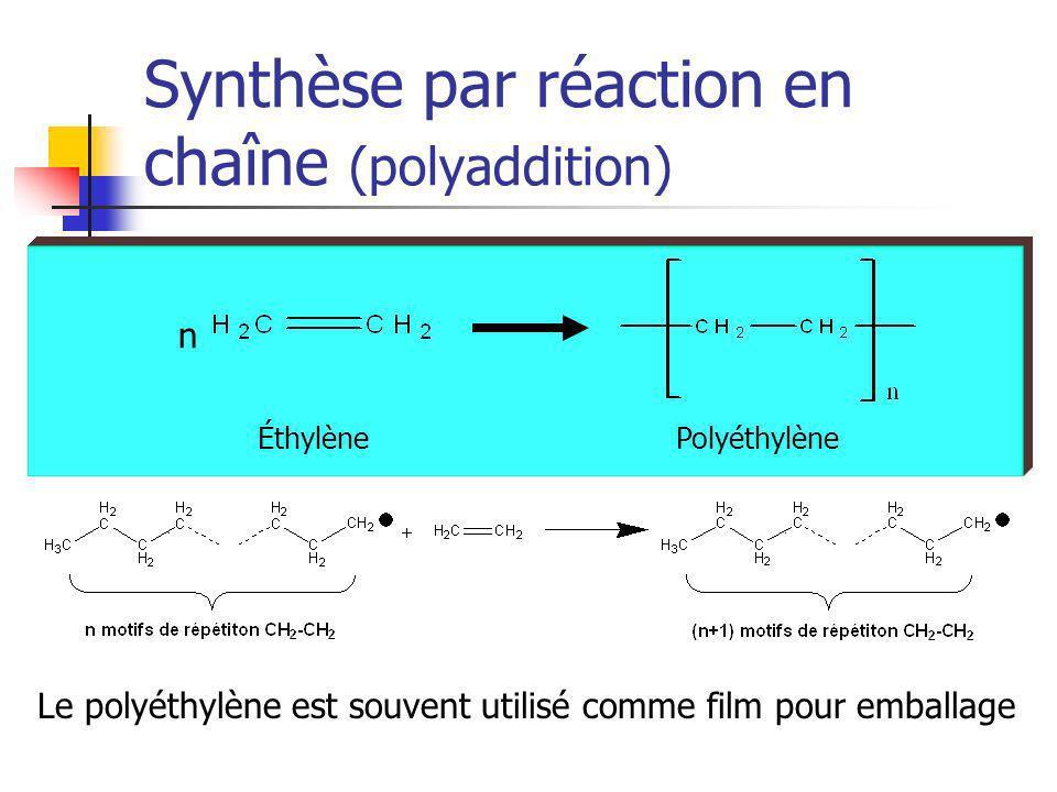 Synthèse par réaction en chaîne (polyaddition)
