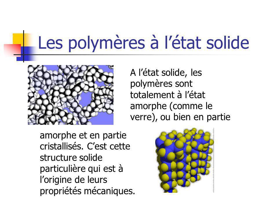 Les polymères à l'état solide