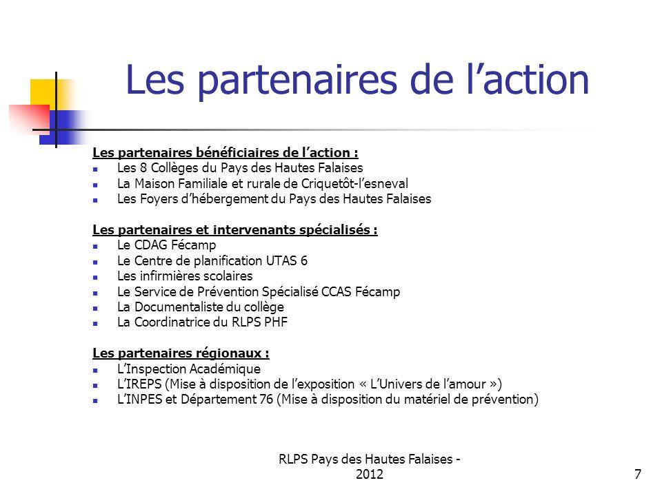 Les partenaires de l'action