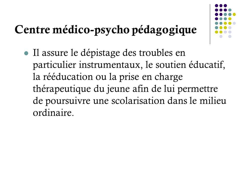 Centre médico-psycho pédagogique