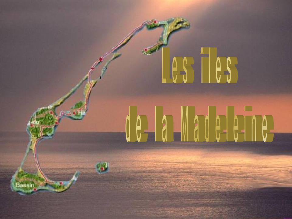 Les îles de la Madeleine